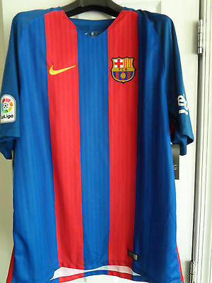 FC Barcelona 1617 Mens Home Stadium Jersey XXL