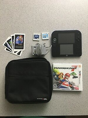 Nintendo 2DS Mario Kart 7 Limited Edition 4GB Electric Blue Handheld System