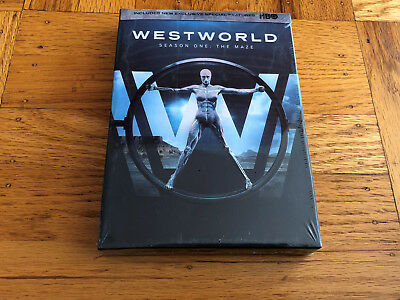 Westworld The Complete First Season 1 DVD 2017 Brand New Sealed USA