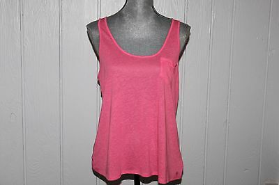 NWT American Eagle Outfitters Pink Sleeveless Top SZ L Loose Fit
