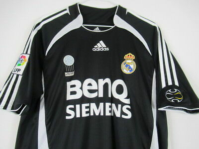MENS M Real Madrid Soccer Jersey Adidas Torres 9 Fifa Award Black White