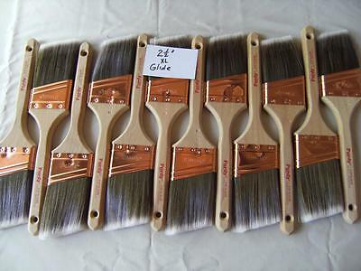 PURDY paint brush lot of 12 XL Glide 2-5-  No covers-  New Great buy Limited-