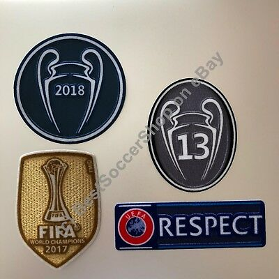 2018-19 UEFA Champions League patch kit - Real Madrid FC -NEW 2019 season