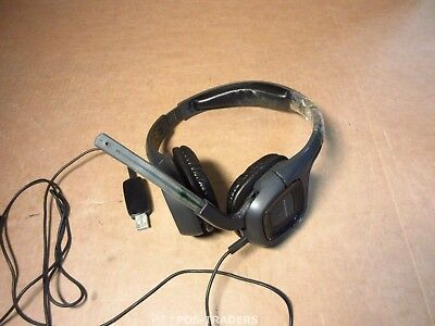 Plantronics Audio 655 DSP Black Headband Headset W/ Noise Canceling Mic DAMAGED