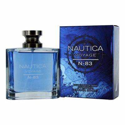 Nautica Voyage N-83 Cologne by Nautica 3-4 oz EDT Spray for Men NEW IN BOX