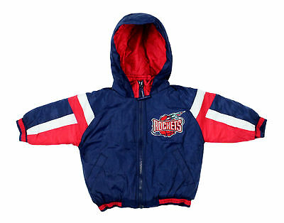 NBA Basketball Boys Infants Toddlers Houston Rockets Vintage Bomber Jacket Navy