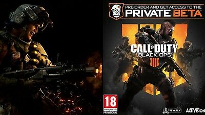 Call Of Duty Black Ops 4 Early Access Code- PS4 Xbox One PC 24 hr Delivery