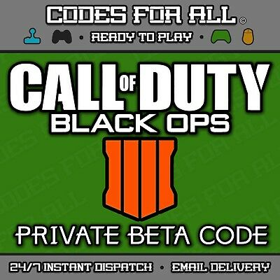 Call Of Duty Black Ops 4 Early Access BETA - PC PS4 XBOX ONE - INSTANT DISPATCH