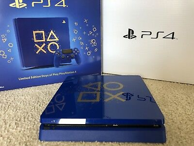 PlayStation 4 Slim Limited Edition Days of Play 1TB Console