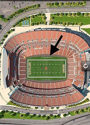 Cleveland Browns vs Philly Eagles Mid-Field Lower Level Sec 132 Row 7 35YD