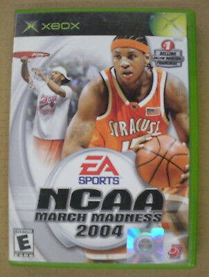 NCAA March Madness 2004 - Original Xbox Game - Complete - Tested
