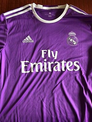 Real Madrid Replica 3rd Jersey 1617 - Purple From adidas