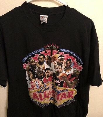 Rare Vintage 2007 NBA ALL-STAR GAME Las Vegas XL T-Shirt