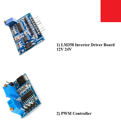 SG3525 LM358 PWM CONTROLLER MODULE ADJUSTABLE FREQUENCY MODULE 100HZ 100KHZ