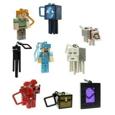 Minecraft Keychains Pick n Choose New Toys Keychains Keyring GR8 for Gifts