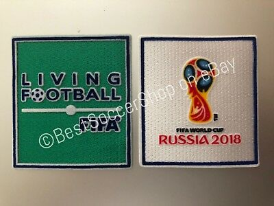FIFA World Cup Russia 2018 - Soccer Jersey Patch Set