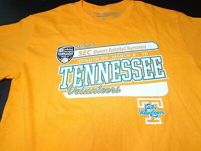 2013 SEC BASKETBALL TOURNAMENT TENNESSEE LADY VOLUNTEERS VOLS  SMALL T SHIRT  J7