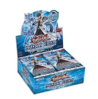 Yugioh White Dragon Abyss Booster Box Legendary Duelists 1st Ed Sealed new