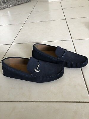 Aldo Anchor Loafers Navy Size 10-5