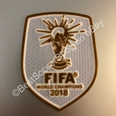FIFA 2018 World Cup Champion- Soccer Jersey Patch - France - NEW