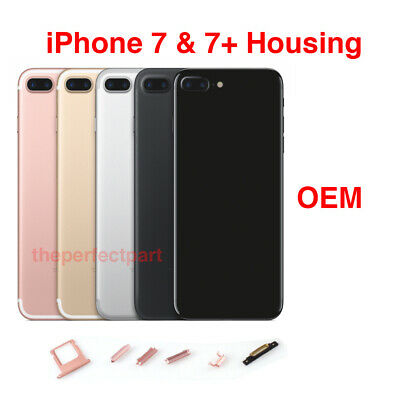 OEM Battery Metal Housing Back Door Cover Replacement For iPhone 7 iPhone 7 Plus