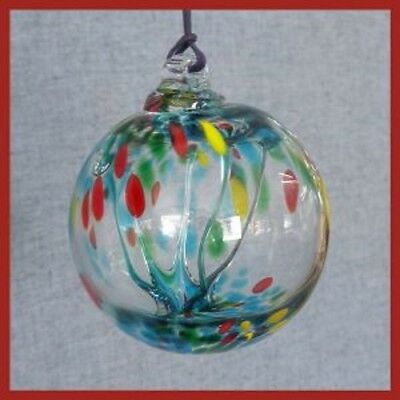 Hanging Glass Ball 6 Diameter Spring Tree Witch Ball 1 25