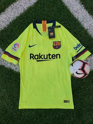 Nike New Messi FC Barcelona 20182019 Player Version Away Jersey With Tags