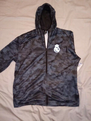 Real Madrid Official License Soccer Track Jacket Football Adult Extra Large