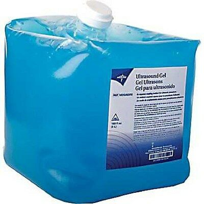 5 LITER JUG ULTRASOUND TRANSMISSION GEL PLUS BOTTLE  AQUASONIC REPLACEMENT