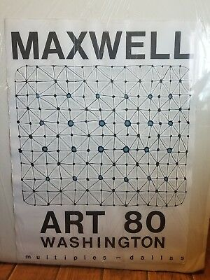 Paul Maxwell Composition Signed 3D Artwork Art 80 Washington