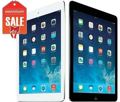 Apple iPad Air 1st Gray Silver I WiFi - Cellular Unlocked I 16GB 32GB 64GB 128GB