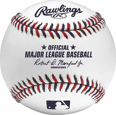 Rawlings 2017 Fourth 4th of July Independance Day Official Game Baseball - Boxed