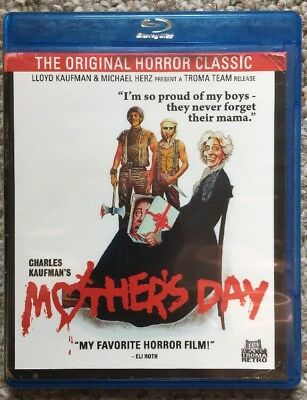 Mothers Day 1980 Blu-ray LLoyd Kaufman Michael Herz Troma Team Horror