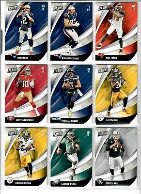 2018 Panini Black Friday Football Base You Pick BRADY CAM ZEKE DAK MAHOMES ETC-