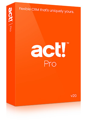 Act Pro v21 1-User From Trusted Act Consultant