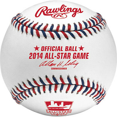 Rawlings 2014 All Star Official Game Baseball Minnesota Twins Target Field Boxed