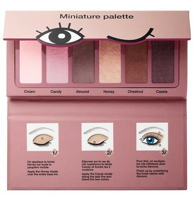 Sephora Collection Miniature Eyeshadow Palette Donut Shades  Limted Edition