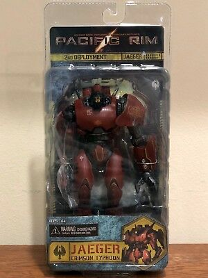 NECA 7 Inch Pacific Rim Jaeger CRIMSON TYPHOON Figure