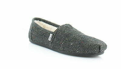 TOMS Classic Womens FLATS BlackWhite Speckled