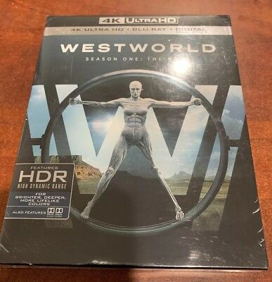 New Westworld Season One The Maze 4K Ultra HD- Blue Ray-Digital Not Included