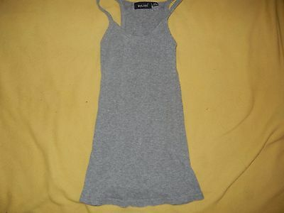 Adorable Gray Womans Tank Top by Wet Seal Size SP
