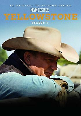 Yellowstone Season 1 One DVD  20184-Disc Set Kevin Costner - Free Shipping
