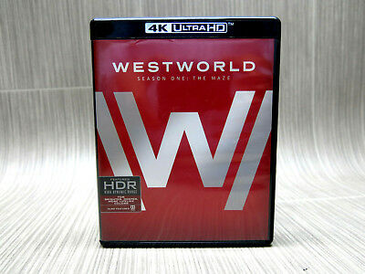 Westworld The Complete First Season 4K Ultra HD Blu-ray 2017 4K Ultra HD Blu