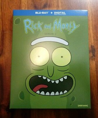 Rick and Morty Season 3 Blu-ray