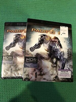 Pacific Rim 4K Ultra HD Blu-ray 2016 Includes Digital Copy 4K Ultra HD-