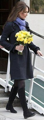 Diane Von Furstenberg Simyonette Coat ASO Duchess of Cambridge Kate Middleton 6