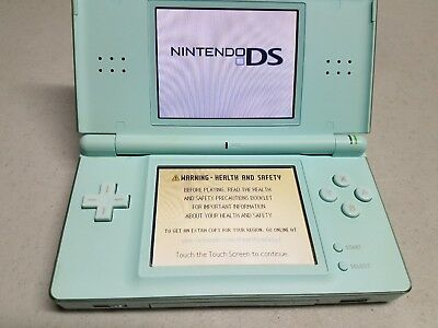 Nintendo DS Lite Launch Edition - Ice Blue Handheld System Console