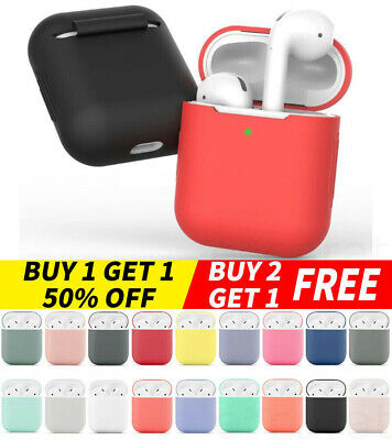 For Apple AirPods Charging Case 2  1 Silicone Protective Slim Cover Protector