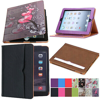 iPad 9-7 6th Generation 2018 Soft Leather Smart Cover Case Sleep Wake For Apple