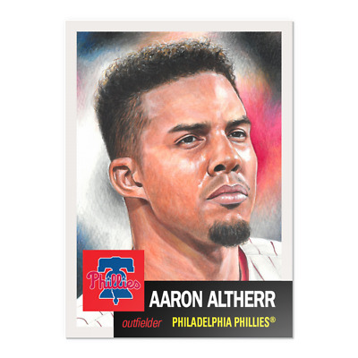 2019 TOPPS LIVING SET 149 AARON ALTHERR